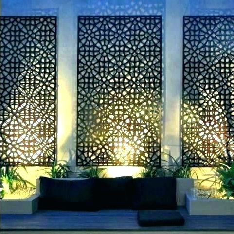 Fashionable Metal Large Outdoor Wall Art Pertaining To Outdoor Wall Art Metal Large Large Outdoor Wall Art Outdoor Wall Art (View 3 of 15)