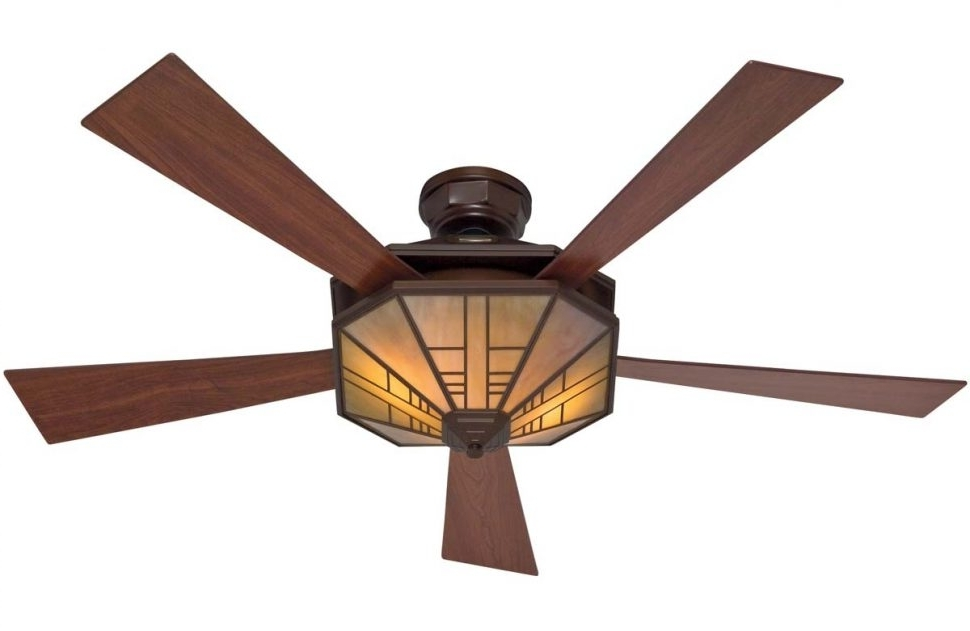 Fashionable Mission Style Ceiling Fan Lowes (View 2 of 15)