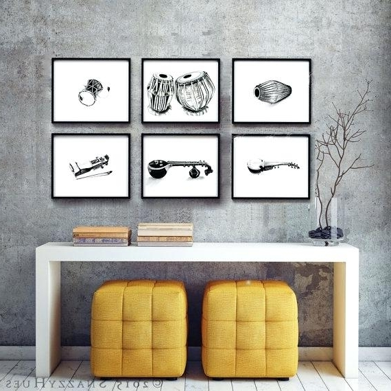 Fashionable Musical Instrument Wall Art Luxury Musical Instrument Wall Decor In Musical Instrument Wall Art (View 5 of 15)