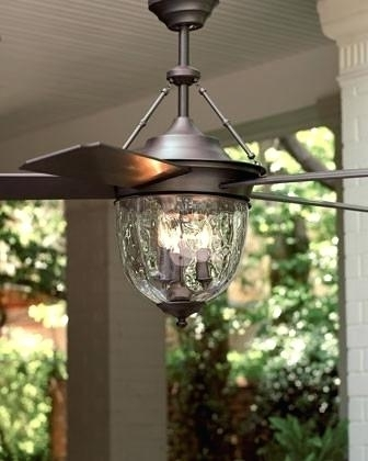 Fashionable Outdoor Ceiling Fans With Lights Wet Rated Bronze Outdoor Ceiling With Regard To Wet Rated Outdoor Ceiling Fans With Light (View 11 of 15)