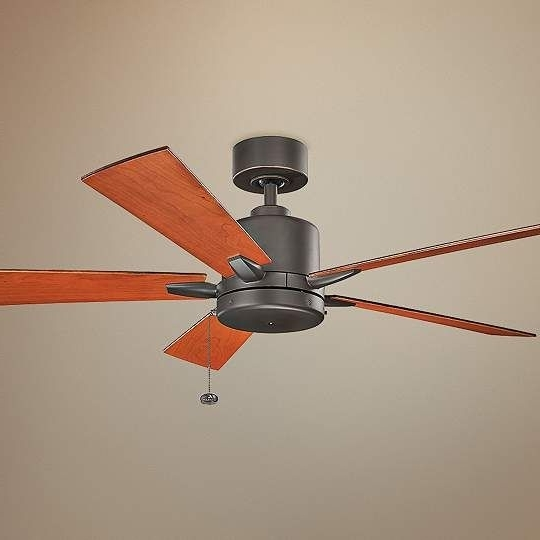 Fashionable Outdoor Ceiling Fans With Pull Chain Intended For 52 Inch Bowen Pull Chain Energy Star Olde Bronze Ceiling Fan (View 5 of 15)