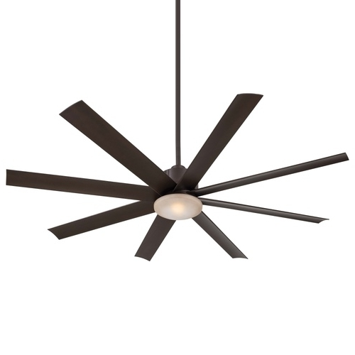 Fashionable Oversized Outdoor Ceiling Fans With Regard To Mf888Orb Slipstream Oversize Fan (60'' And Larger) Ceiling Fan – Oil (View 13 of 15)