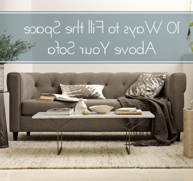 Fashionable Sofa Size Wall Art With Regard To Finally! A Blog That Shows The Correct Size For Art Above The Couch (View 4 of 15)