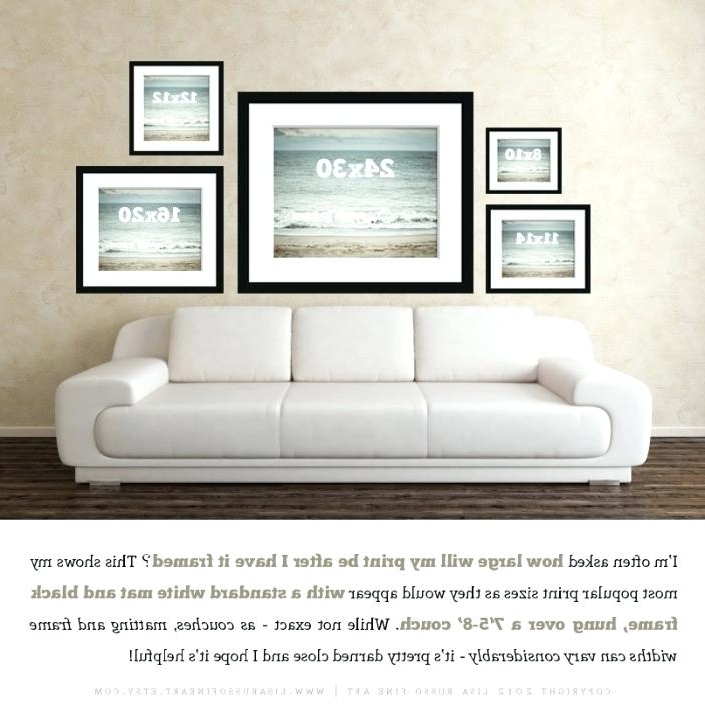 Fashionable Sofa Size Wall Art Within Sofa Size Wall Art Fine Art Print Size Comparison Couch Size Wall (View 8 of 15)