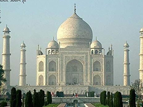 Fashionable Taj Mahal Wall Art In Amazon: Taj Mahal  Oil Painting On Canvas Modern Wall Art (View 5 of 15)