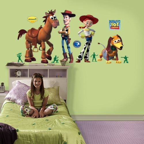 Fashionable Toy Story Wall Stickers For Toy Story Wall Art – Elitflat (View 15 of 15)