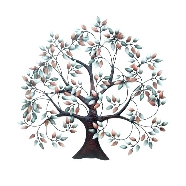 Fashionable Tree Wall Art Sculpture Inside Metal Tree Wall Art Sculpture Metal Tree Wall Decor Metal Tree Wall (View 3 of 15)