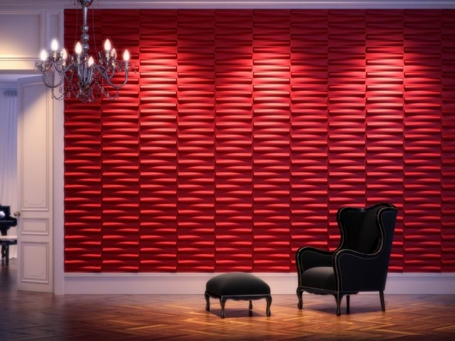 Fashionable Vidella 3D Wall Art Pertaining To 3D Wall Decor Tiles (View 2 of 15)
