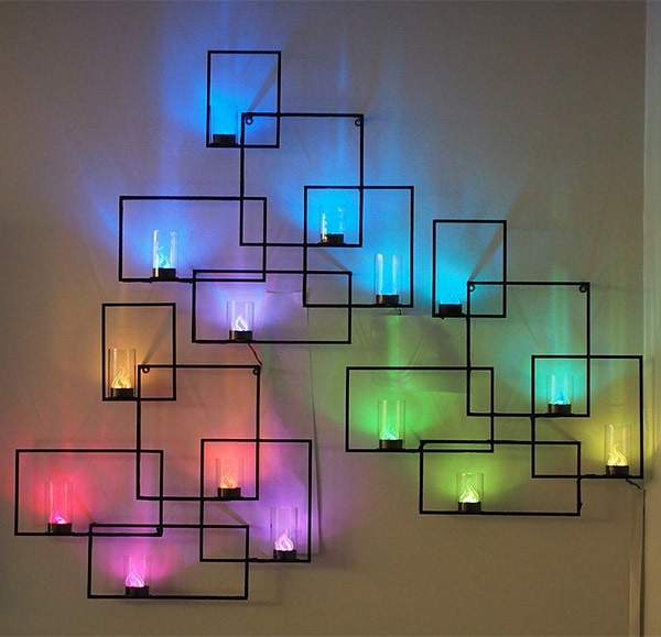 Fashionable Wall Art With Lights – Home Design And Wall Decoration Ideas For Wall Art With Lights (View 3 of 15)