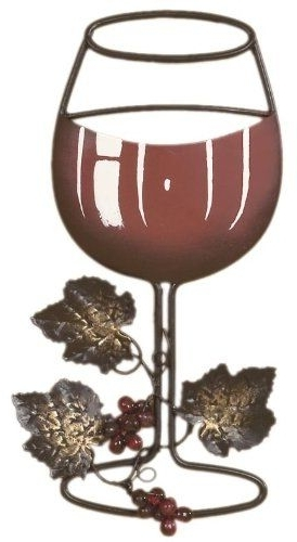 Fashionable Wine Metal Wall Art Pertaining To Tripar Red Wine Metal Wall Decor >>> Want To Know More, Click On The (View 12 of 15)