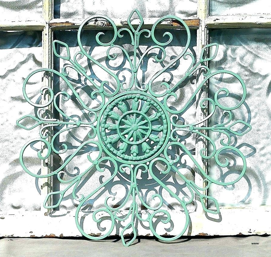 Fashionable Wrought Iron Wall Decor Metal Wall Art Outdoor Unusual Metal Wall Intended For Unusual Metal Wall Art (View 13 of 15)