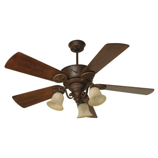 """Fashionable You'll Love The 54"""" Osmond 5 Blade Outdoor Ceiling Fan With Remote With Regard To Wayfair Outdoor Ceiling Fans With Lights (View 3 of 15)"""