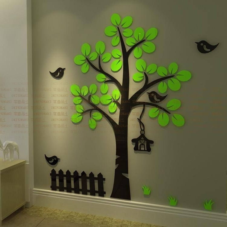 Favorite 23 Awesome Wall Decals To Make Any Home Pop (View 9 of 15)