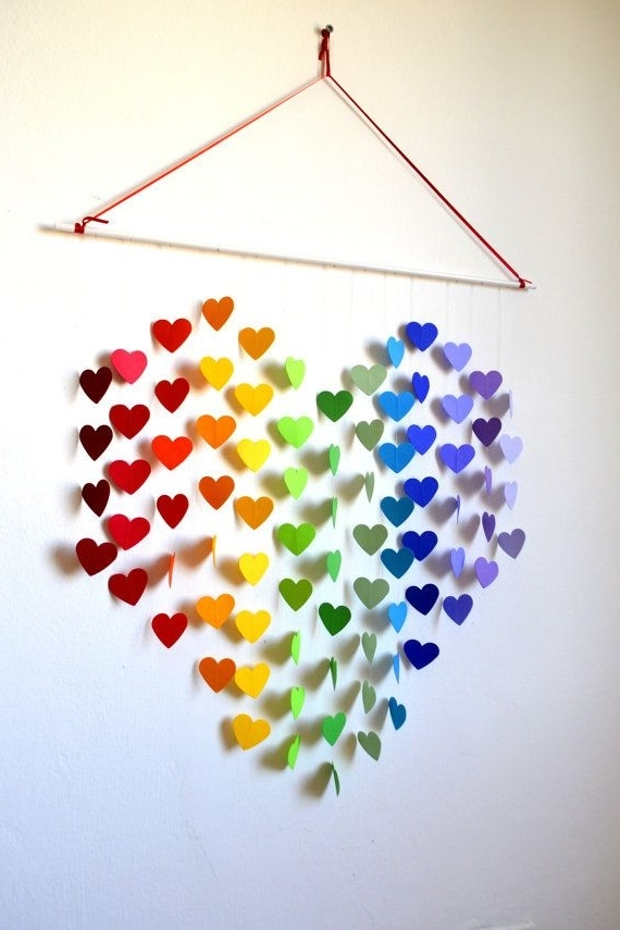 Favorite 27 Amazing Diy 3D Wall Art Ideas Within 3D Wall Art With Paper (View 12 of 15)