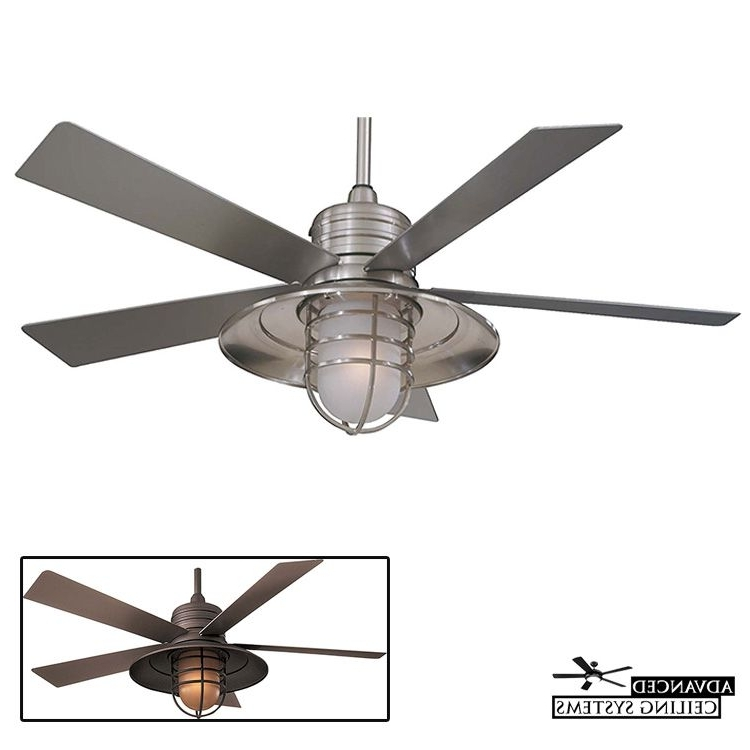 Favorite 8 Perfect Coastal Style Ceiling Fans For Beach Inspired Homes Pertaining To Outdoor Ceiling Fans For Coastal Areas (View 6 of 15)