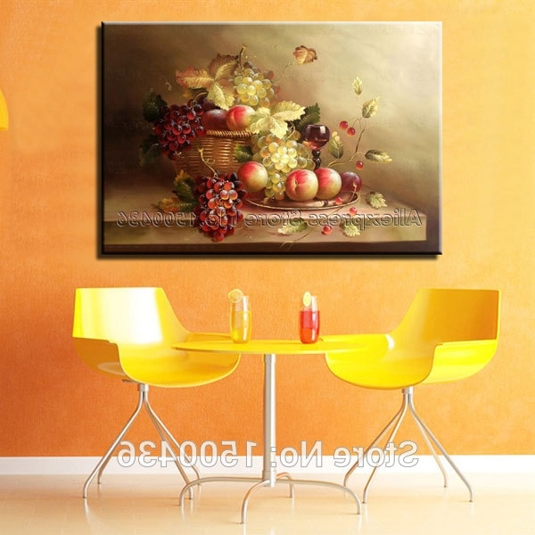 Favorite Abstract Kitchen Wall Art With Regard To Abstract Kitchen Wall Art Hand Painted Modern Abstract Oil Painting (View 8 of 15)