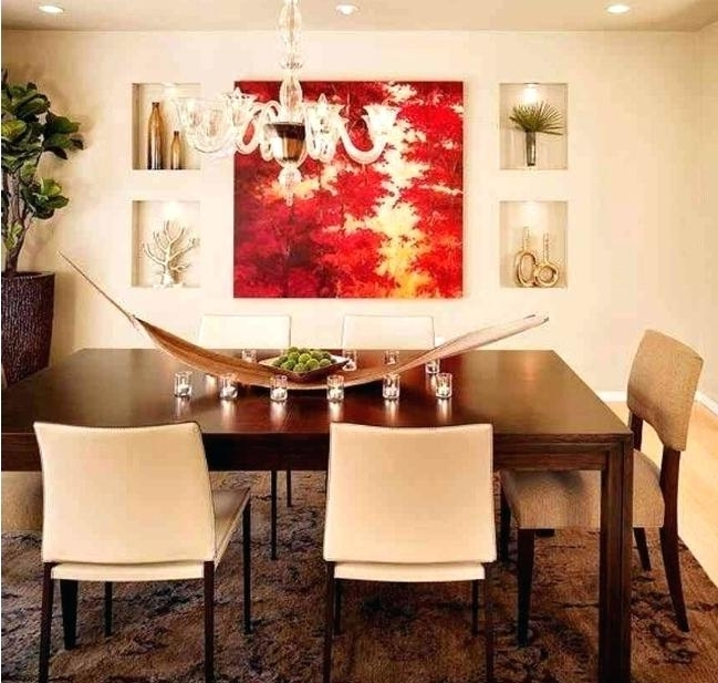 Favorite Abstract Wall Art For Dining Room With Wall Art For Dining Area Red And White Abstract Wall Art For Dining (View 8 of 15)