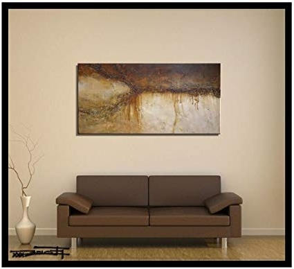 Favorite Amazon: Modern Canvas Wall Art  Limited Edition, Hand Pertaining To Limited Edition Canvas Wall Art (View 5 of 15)