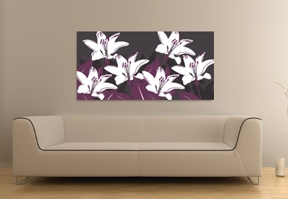 Featured Photo of Aubergine Wall Art