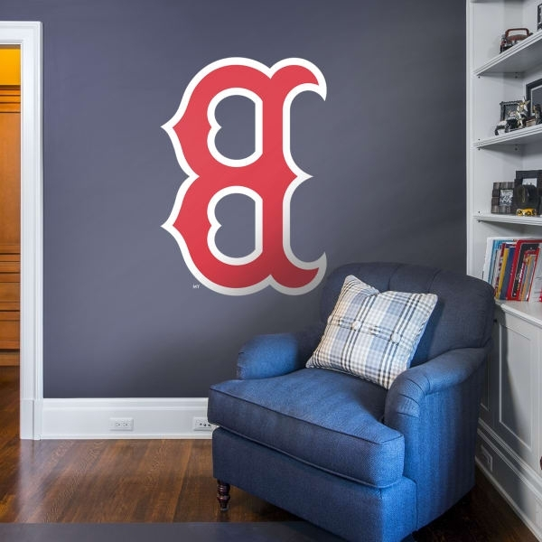 Favorite Boston Red Sox Fathead Wall Decals & More (View 4 of 15)