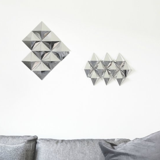 Favorite Diy 3D Mirror Wall Art — Crafthubs For Do It Yourself 3D Wall Art (View 4 of 15)
