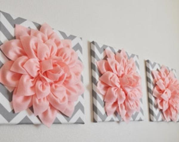 Favorite Do It Yourself 3D Wall Art With Wall Art Ideas Design : Canvas Borderless 3D Flower Wall Art Hanging (View 3 of 15)