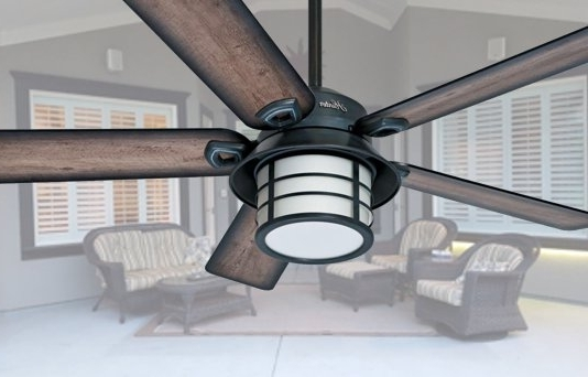 Favorite Elegant Outdoor Ceiling Fans Inside The Most Elegant Outdoor Ceiling Fans With Light Pertaining To (View 12 of 15)