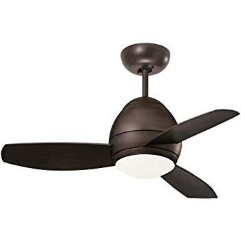 Favorite Emerson Ceiling Fans Cf244Orb, Curva, Modern Indoor Outdoor Ceiling With Outdoor Ceiling Fans With Removable Blades (View 4 of 15)