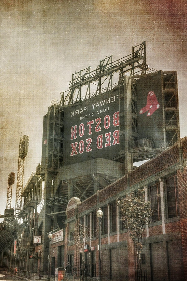 Favorite Fenway Park Billboard – Boston Red Sox Photographjoann Vitali Within Boston Red Sox Wall Art (View 13 of 15)