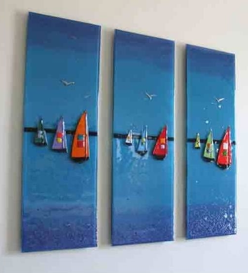 Favorite Fused Glass Wall Art Hanging Within Wall Art Ideas Design Multi Fused Glass Hanging Panel Magnificent (View 6 of 15)