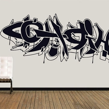 Favorite Graffiti Wall Art Stickers Grf Htm Web Art Gallery Graffiti Wall With Graffiti Wall Art Stickers (View 9 of 15)