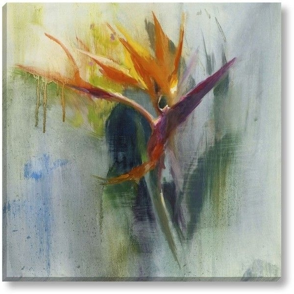 Favorite Grandin Road Wall Art In Grandin Road Birds Of Paradise Wall Art ($159) ❤ Liked On Polyvore (View 5 of 15)