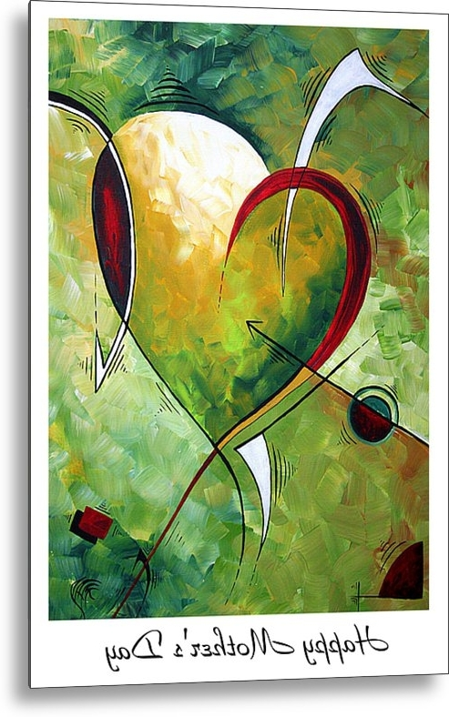 Favorite Happy Mother's Daymadart Metal Printmegan Duncanson Intended For Megan Duncanson Metal Wall Art (View 5 of 15)