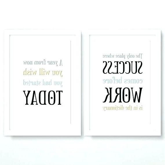 Favorite Inspirational Wall Art For Home Inspirational Office Quotes Plus Within Inspirational Wall Art For Office (View 10 of 15)