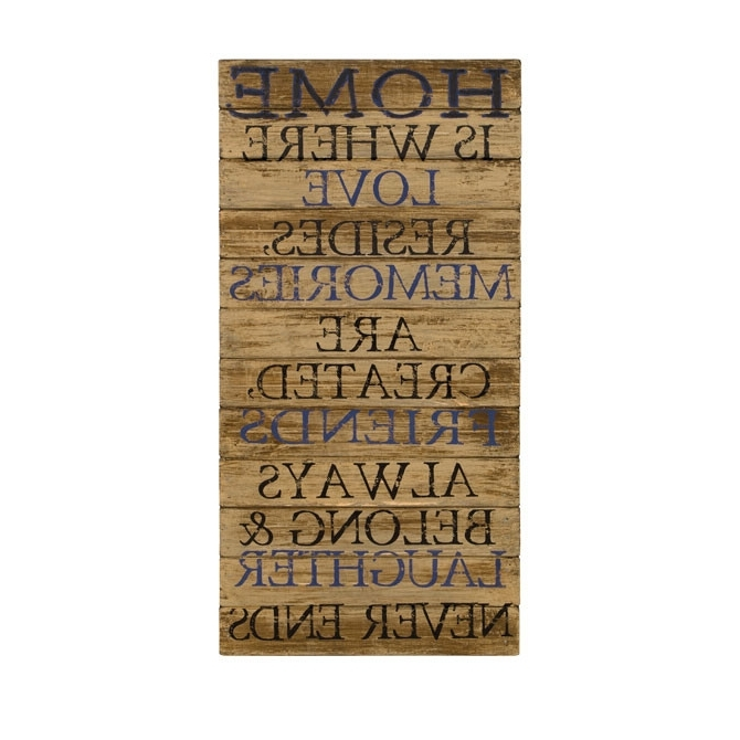 Favorite Inspirational Wall Decor Plaques Inspirational Christian Wooden Wall Regarding Inspirational Wall Plaques (View 14 of 15)
