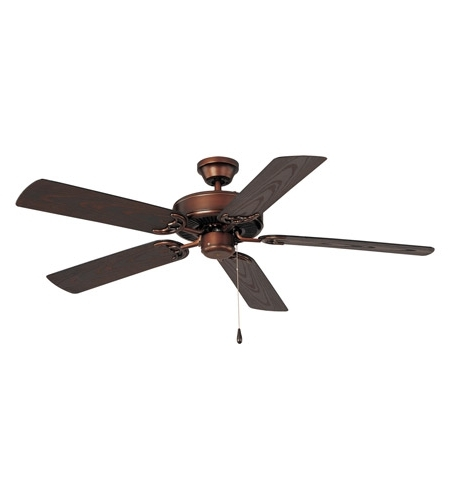 Favorite Maxim 89915Oi Basic Max 52 Inch Oil Rubbed Bronze Outdoor Ceiling Fan With Regard To Oil Rubbed Bronze Outdoor Ceiling Fans (View 7 of 15)