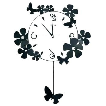 Favorite Metal Wall Art Clock Abstract Wall Clocks Abstract Wall Clock Within Abstract Clock Wall Art (View 9 of 15)