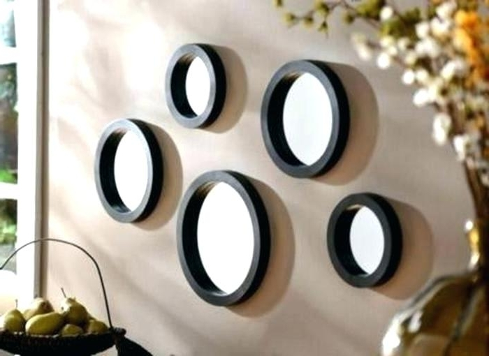 Favorite Mirror Circles Wall Art With Regard To Mirror Circles Wall Art 3 Piece Intricate Circle Metal Set Winning (View 3 of 15)