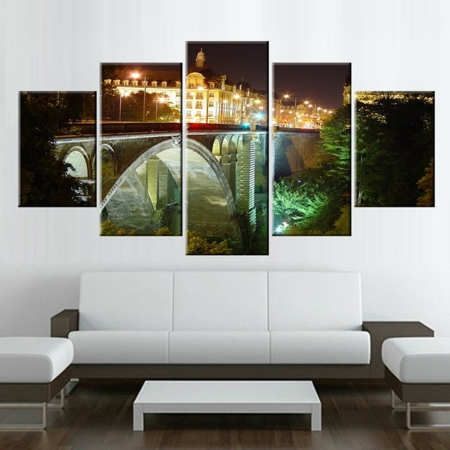 Favorite Modular Wall Art Intended For Painting Canvas Modular Wall Art Pictures Decoration Home Decor  (View 4 of 15)