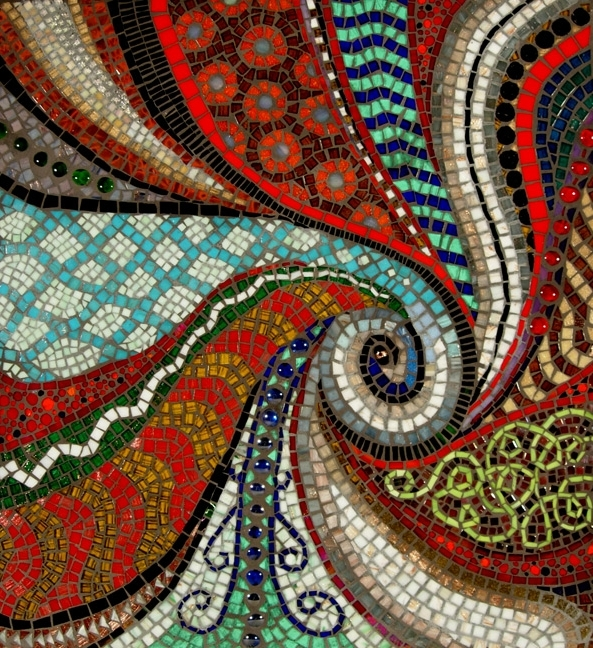 Favorite Mosaic Artists Gallery Photos Of Abstract Mosaics – Showcase Mosaics Intended For Abstract Mosaic Art On Wall (View 2 of 15)