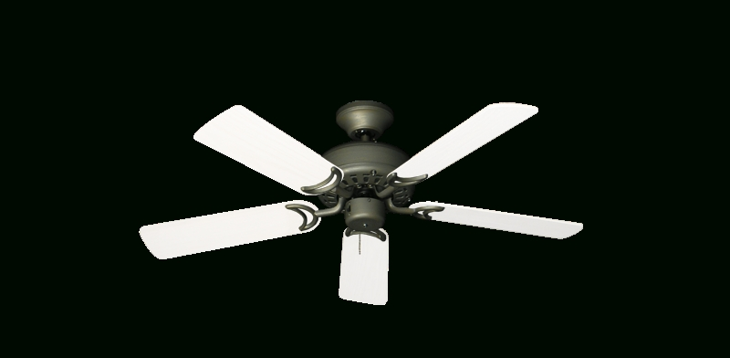 "Favorite Outdoor Ceiling Fans With Removable Blades Intended For 42"" Dixie Belle Ceiling Fan In Antique Bronze With 42"" Outdoor Pure (View 12 of 15)"