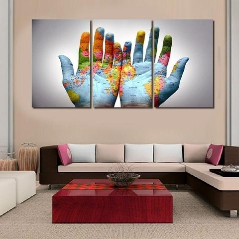 Favorite Pcs Set Modern Abstract Wall Decor On Bedroom Wall Decor Within Abstract Wall Art For Bedroom (View 12 of 15)