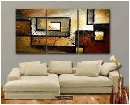 Favorite Southern Enterprises Abstract Wall Art Pertaining To Modern Art Goes Well With Southern Enterprises Wine Bottle Storage (View 2 of 15)