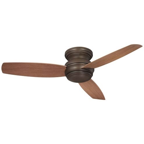 Favorite Traditional Outdoor Ceiling Fans Within Minka Aire Traditional Concept Oil Rubbed Bronze 52 Inch Outdoor Led (View 10 of 15)