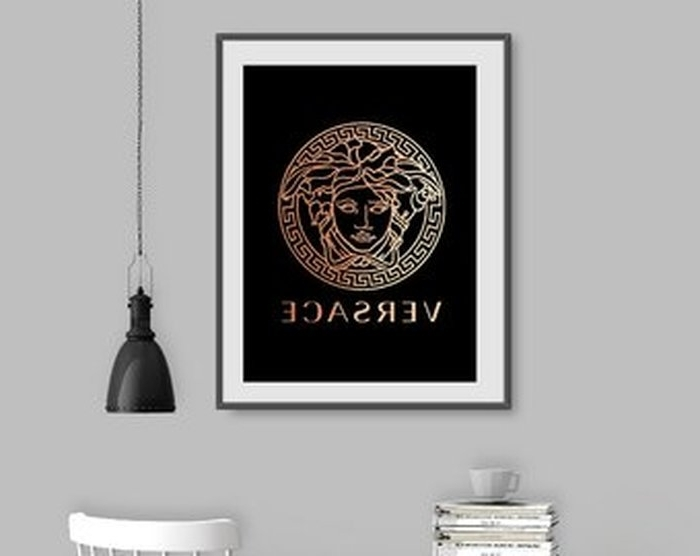Favorite Versace Wall Art With (View 11 of 15)