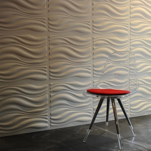 Favorite Waves 3D Wallart Contemporary Wallpaper (View 6 of 15)