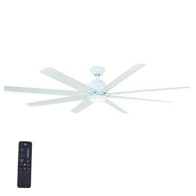Favorite White – Angled Mount – Outdoor – Ceiling Fans – Lighting – The Home Inside White Outdoor Ceiling Fans With Lights (View 7 of 15)
