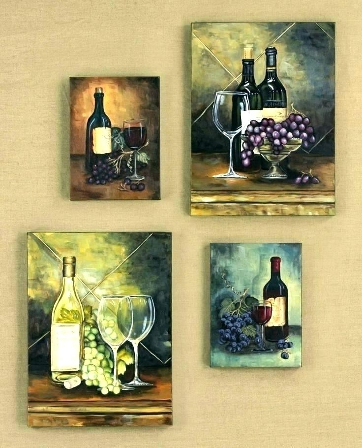 Favorite Wine Theme Wall Art Within Wine Themed Kitchen Ideas Photos To Rugs Decor – Brusselsand (View 10 of 15)
