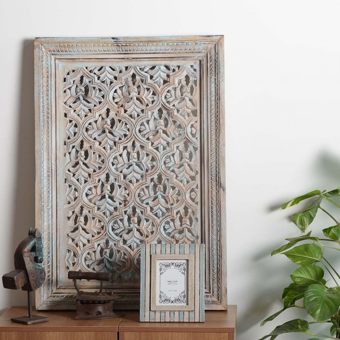 Filigree Styled Wall Art, Wall Art, Wall Frame, Wooden Wall Frame Inside Best And Newest Filigree Wall Art (View 14 of 15)