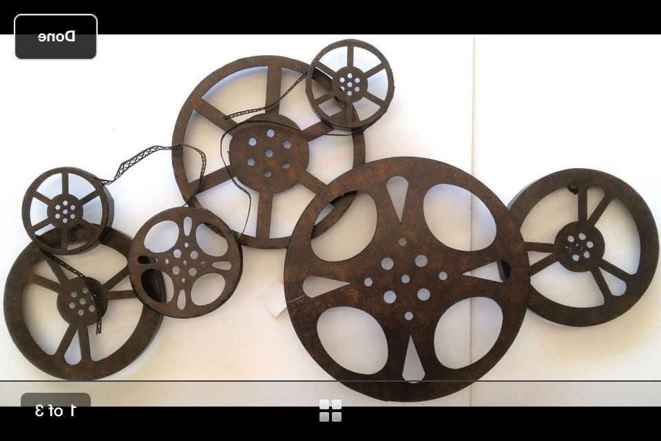Film Reel Wall Art Throughout Latest Movie Film Reel Wall Art Idea From Hobby Lobby (View 8 of 15)